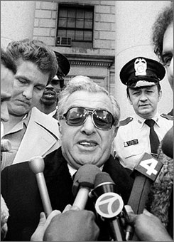 Anthony Provenzano -- Local 560 Teamsters Boss -- is believed to have been responsible for the disappearance of Jimmy Hoffa.