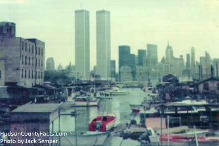 The Green Street Boat Club in Jersey City circa 1973 -- Photo by Jack Sember